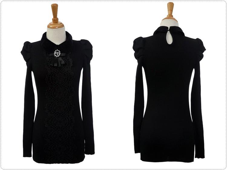 服装网店装修素材黑色